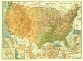 america on a map united states of america map 1923 maps
