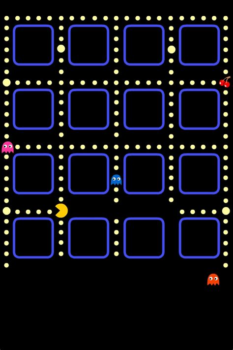 wallpaper iphone 5 pacman awesome pacman iphone background made by my friend learys