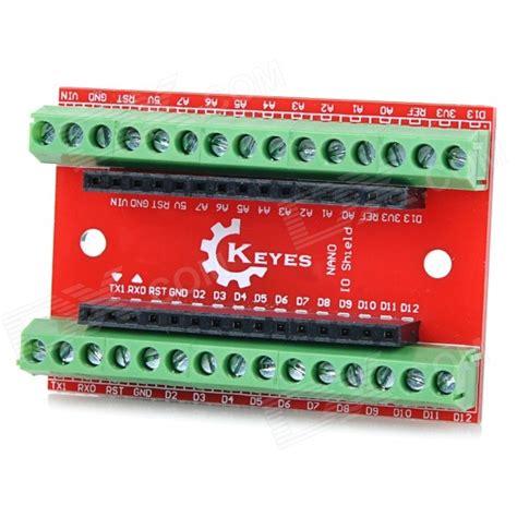 Arduino Nano Io Expansion Shield Board keyes eb0057 nano io expansion board shield for arduino