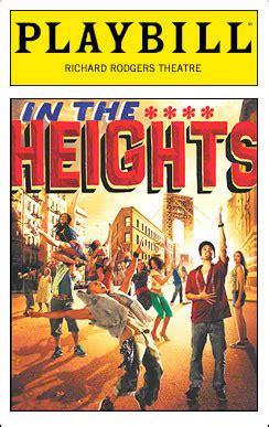 lin manuel mirandas   heights   broadway breakthrough  york theater