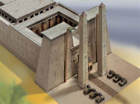 cm 1185931 house interior construction kit model building kit egyptian temple 1550 1070 bc