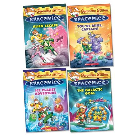 the invisible planet geronimo stilton spacemice 12 books geronimo stilton spacemice pack x 4 scholastic shop