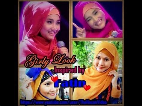 tutorial hijab fatin x factor tutorial hijab paris girly look inspired by fatin