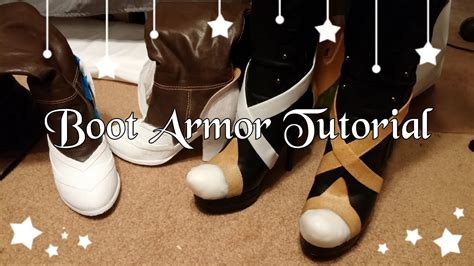 how to shoes how to make boot shoe armor with worbla doovi