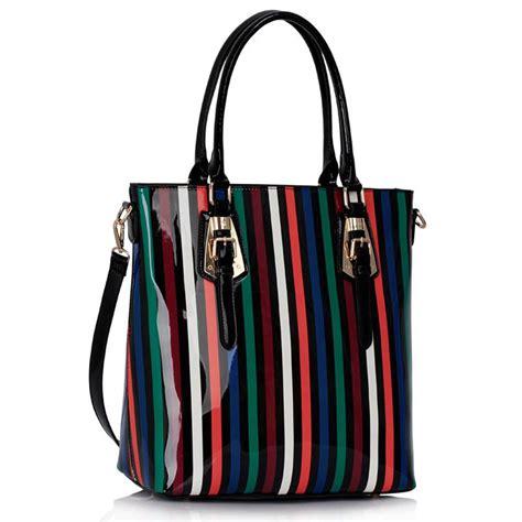 design style wholesale designer style stripe tote handbag