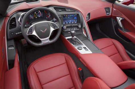 corvette stingray interior 2016 chevrolet corvette stingray updates gm authority