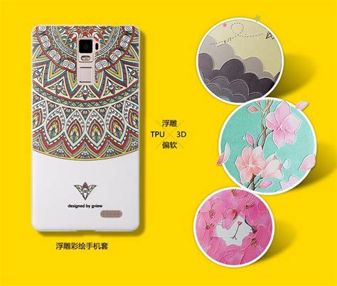 Oppo R7 R7 Lite 3d Relief Soft Casing Bumper Cover oppo r7 lite plus 3d relief silicone cove end 7