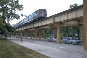 Light Rail Green Line Chicago L Org Operations Lines Gt Lake Branch