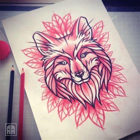 tattoo flash fox tattoo designs by aleksandr ageev a collection of tattoos