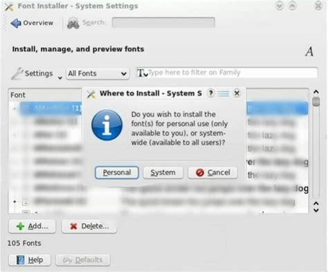 ubuntu better fonts how to install microsoft fonts in ubuntu linux