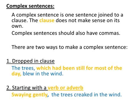 the simple secrets of sentence variety sentence types