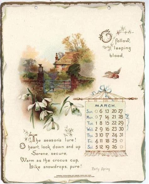 printable calendar vintage 17 best images about vintage calendars on pinterest home