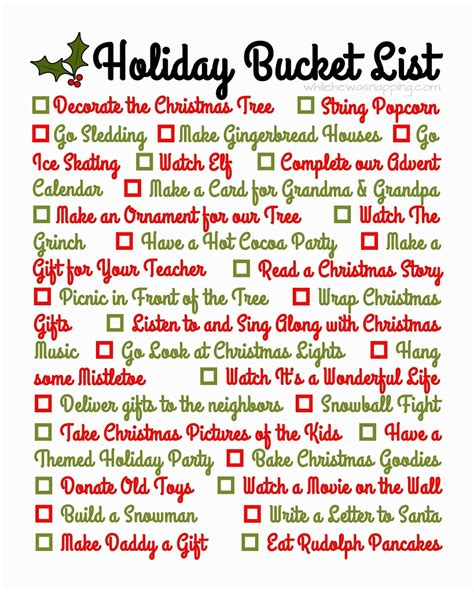 best christmas list items for runners printable list while he was napping