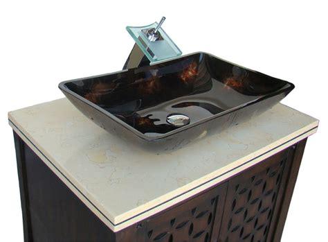 Adelina 30 inch contemporary vessel sink bathroom vanity espresso finish cabinet