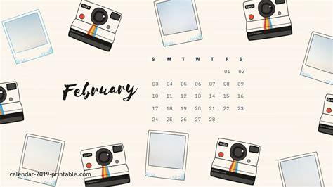 february  calendar wallpapers wallpaper cave