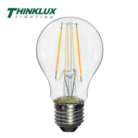 277v Incandescent L by Light Bulb A19 Thinklux Filament Led Bulbs Earthled