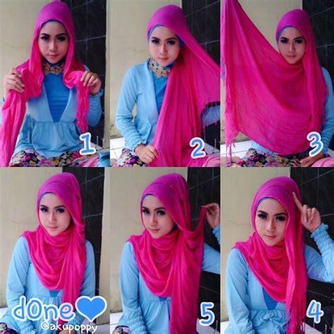 tutorial hijab pashmina simple ke kantor tutorial hijab simple untuk ke kus kantor dan kuliah