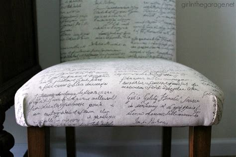 Diy Reupholster by How To Reupholster A Dining Chair Straying From Your