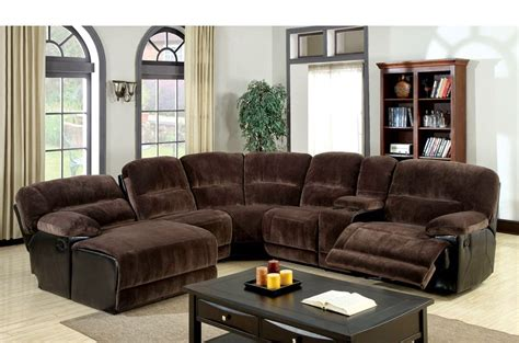 Recliner Sectional Sofas Best Sectional Sofas With Recliners And Chaise Homesfeed