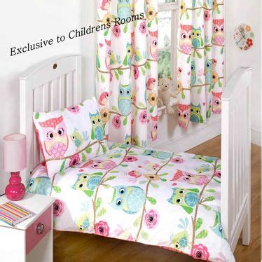 owl bedroom curtains owl and friends girls toddler bedding http www