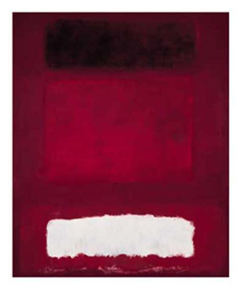 Rothko Kunstdruck by Rothko White And Brown 1957 Kunstdruck 98x120