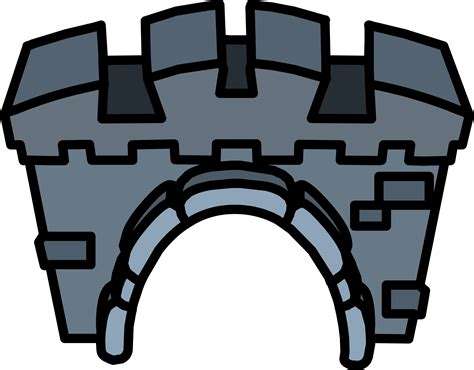 Castle Treasure Recliner by Castle Entrance Club Penguin Wiki The Free Editable