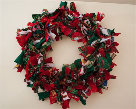rag wreath norfolk treasures rag wreaths