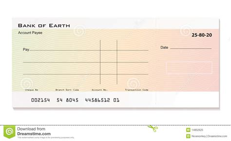 bank chequ bank cheque royalty free stock photo image 14852625