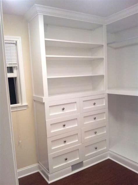 Built In Dresser Closet by 17 Best Ideas About Closet Dresser On Closet