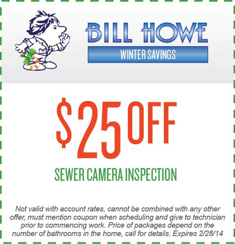 plumbing coupons