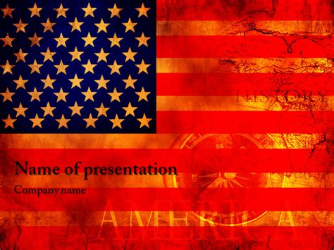 usa themes microsoft download free usa flag powerpoint template for your