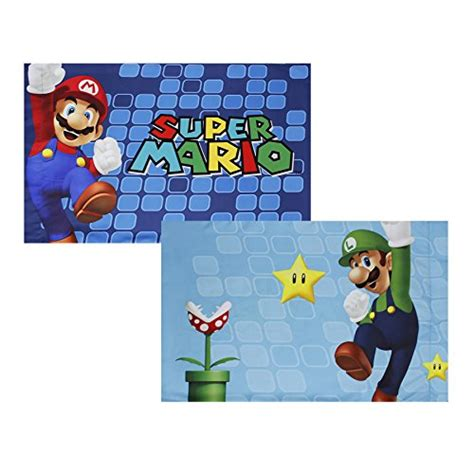 super mario pillowcase 2pc mario pillowcase set nintendo fresh look bedding accessories pet bed cat beds and