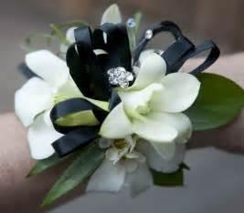 Corsage Bracelet Prom Flowers April 2011