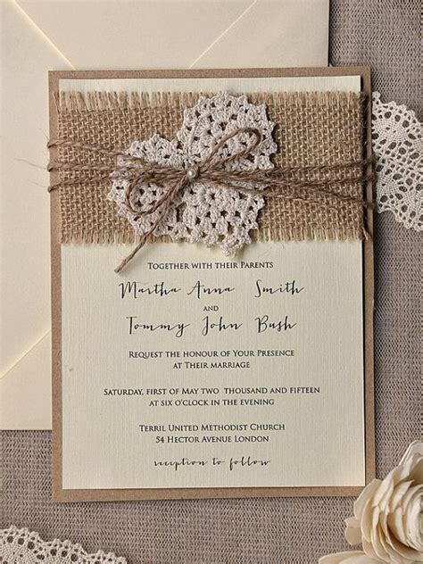Wedding Invitation Handmade - 1000 ideas about handmade wedding invitations on