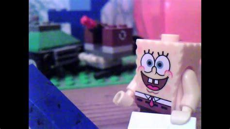 How To Make Spongebob With Paper - lego spongebob the paper p1