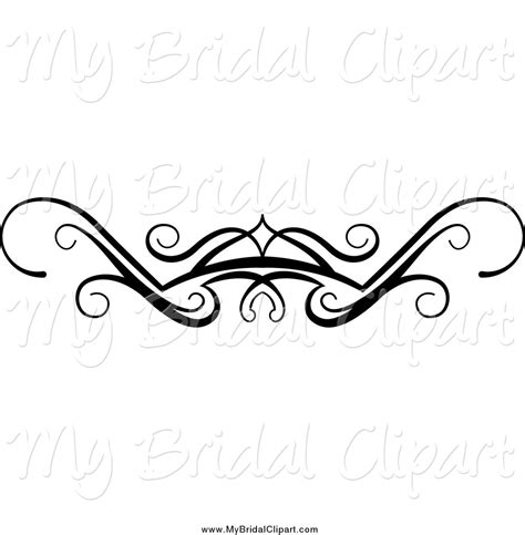 Wedding Border Line by Royalty Free Border Stock Bridal Designs