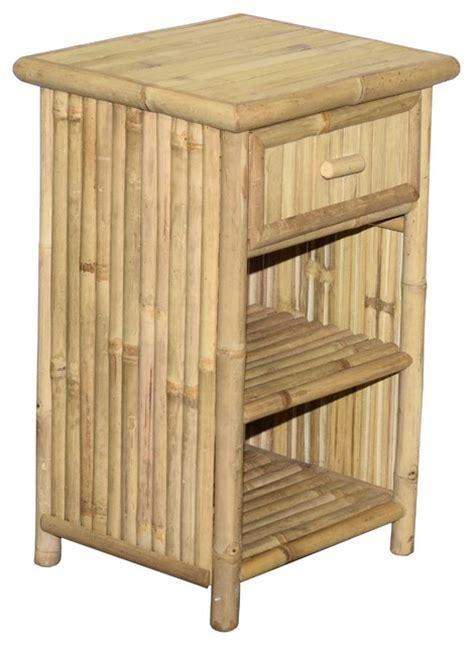 Slim Nightstand Bamboo54 Slim Profile Stand With Drawer