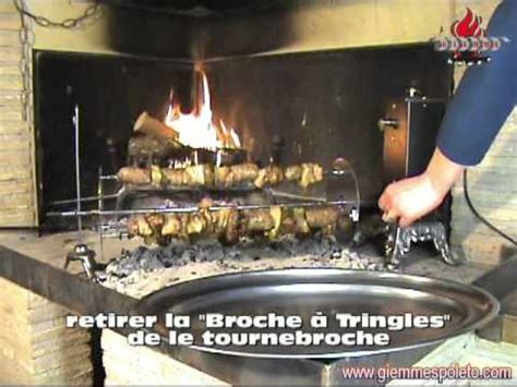 tourne broche electrique  decale youtube