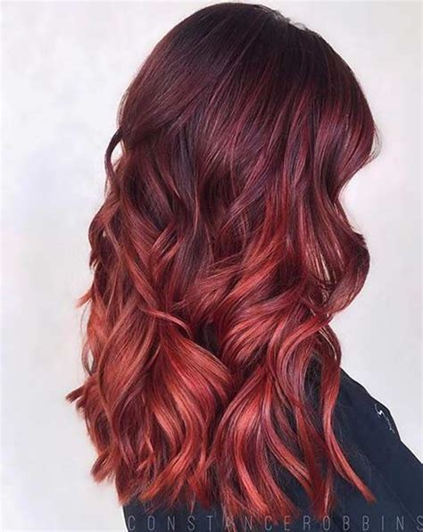 gallery blonde highlights onbre 31 best red ombre hair color ideas stayglam