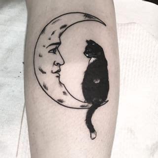 cat tattoo identification cat moon tattoo designs www pixshark com images