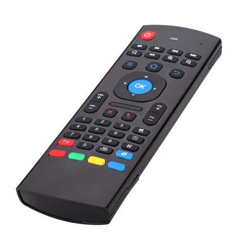 android tv remote portable 2 4g wireless mx iii tv box remote keyboard remote controller air mouse for
