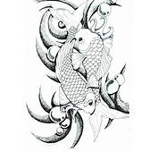 Pin Dibujo Carpa Pictures To On Pinterest  TattoosKid