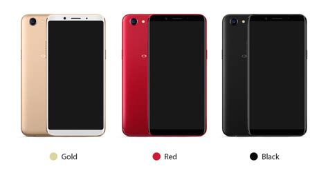 Oppo F5 Gold And Black oppo f5 launched with a screen and ai