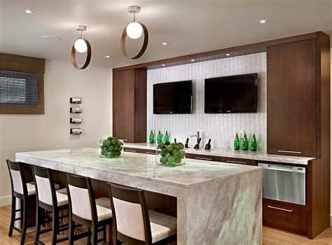Kitchen Island In Small Kitchen 27 basement bars that bring home the good times