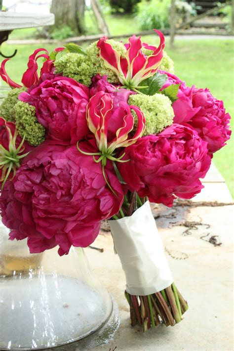 Pink Flowers Wedding by Wedding Ideas Bright Pink And Lime Green Wedding
