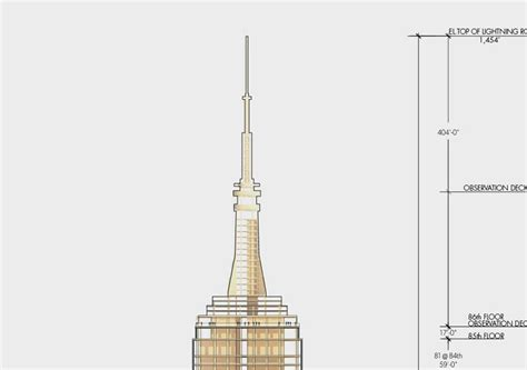 High Rise Building Floor Plan by Empire State Building