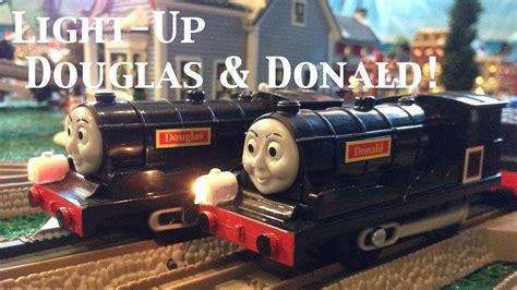 Douglas And Friends and friends trackmaster light up donald
