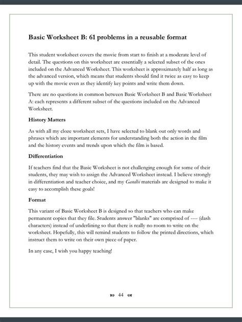 biography features worksheet 78 images about gandhi on pinterest teaching quizes
