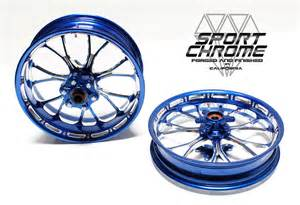 Wheels Blue Truck With Motorcycles Custom Performance Machine Rsd Motorcycle Wheels