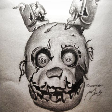 Springtrap Drawing
